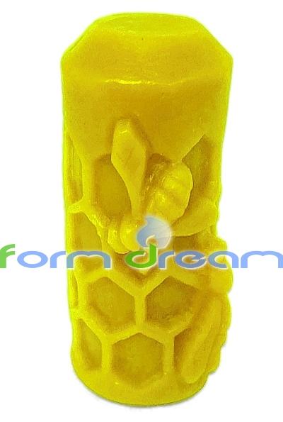 W Ultra Węza z pszczołami silikonowa forma do świec - Form Dream JT69